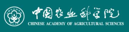 (English) Chinese Academy of Agricultural Sciences